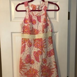Conched Out Lilly Pulitzer print dress